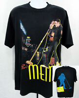Elvis Presley Memphis Tennessee All Over Print Black T Shirt Mens Size XL 2005