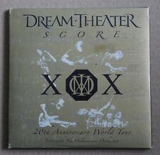 Dream Theater, score - 20 th anniversary world tour - live avec octavarium, 3CD