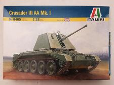 Italeri 6465 Crusader III AA Mk. I 1:35 Neu, nicht eingetütet, Verpackung defekt