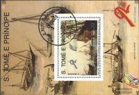 Sao Tome e Principe Block204 (kompl.Ausg.) gestempelt 1989 Schiffahrt