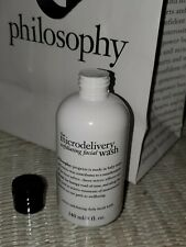 New & Sealed! Philosophy the Microdelivery Daily Exfoliating Face Wash (8 fl oz)