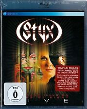 STYX LIVE: THE GRAND ILLUSION + PIECES OF EIGHT (Blu-ray Disc) NEU+OVP