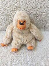 """RUSS Cream Off-White Beige Thumb Sucking Plush GONGA Ape Gorilla Monkey 1977 8"""""""