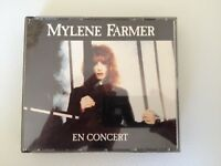 COFFRET 2 CD ALBUM LIVE 18 TITRES--MYLENE FARMER--EN CONCERT