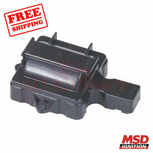 MSD Ignition Coil Cover fit Chevrolet K10 Suburban 1975-1986