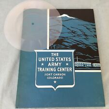 60'S UNITED STATES ARMY TRAINING CENTER FORT CARSON COLORADO RECORD SOUNDS BASIC