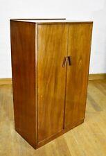 Vintage tallboy side cabinet - linen cupboard