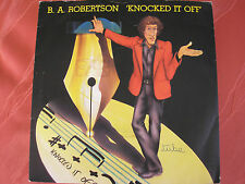B.A. Robertson - Knocked it Off / SCI Fi - Asylum K 12396