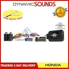 eonon joying contrôle COLONNE DIRECTION Adaptateur pour Honda City HR-V Jazz