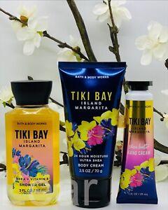*NEW* Bath and Body Works Travel Size Tiki Bay Island Margarita 3-Piece Set