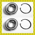 Front Wheel Hub Bearing Wsnap Kits For Ford C-max Escape Focus Pair