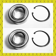 FRONT WHEEL HUB BEARING W/SNAP FOR FORD C-MAX ESCAPE FOCUS PAIR FAST SHIPPNG