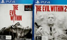 The Evil Within + The Evil Within 2  PS4 Game Combo *New/Sealed/AU Stock*
