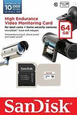 SanDisk 32GB 64GB High Endurance MicroSDHC SDXC Class 10 SDSDQQ MicroSD Lot