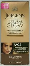 Jergens Natural Glow Daily Facial Moisturizer With Sunscreen 2 Fl oz Exp 05/2020