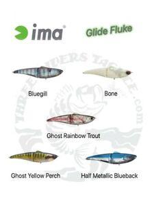 Ima Glide Fluke Glide Bait 125 - Choose Floating or Sinking and Color Pattern