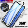 For Samsung Galaxy S9 S8 S10 Plus Magnetic Absorption 360° Protective Case Cover
