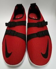 Nike Air Sockracer Ultra Flyknit Trainers Red Black Men's Size 11 US