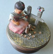 Anri Music Box Lara's Theme Thorens Movement Switzerland Tag Rare Working