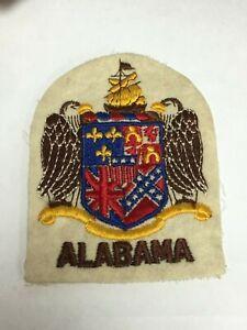 Rare Vintage Alabama State Guard Shoulder Sleeve Patch - Nice!