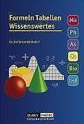 Formeln Tabellen Wissenswertes - Mathematik - Physik - A... | Buch | Zustand gut
