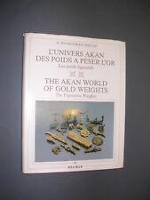 Afrique art primitif l'univers Akan des poids figuratifs à peser l'or 1985