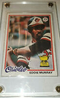 1978 Topps #36 Eddie Murray Baltimore Orioles RC Rookie Baseball Card DH-1B HOF