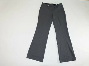 Express Women's Editor Flare Dress Pants Size 8 Regular NWT Low Rise Gray 8R