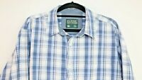 Classic Outdoor Men's Long Sleeve Multi Coloured Check Shirt Button Up Size M