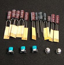 Sega Game Gear 20 Capacitor Replacement Repair Kit Fix Sound & Dim Screen  USA
