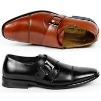 Delli Aldo M-19012 Mens Slip on Loafers Dress Classic Shoes w/ Leather lining