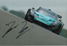 Thomas Biagi Hand Signed Vitaphone Racing 12x8 Photo 1.