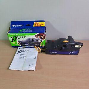 Vintage Polaroid Instant Joycam Flash 500 Film Camera W/ Box & Manual UNTESTED