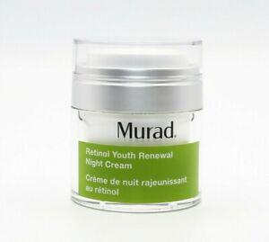 MURAD Retinol Youth Renewal Night Cream 50ml - NEW - Damaged Box