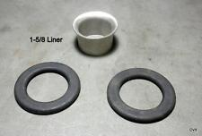 Sailboat Parts Large Stainless Steel  Sail Liner Grommet With Washers Hardware