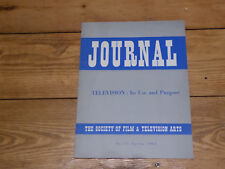 Society of Film and Television Arts Journal No 15 Spring 1964