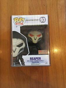 Reaper Box Launch Exclusive Overwatch Funko Pop Vinyl + Protector