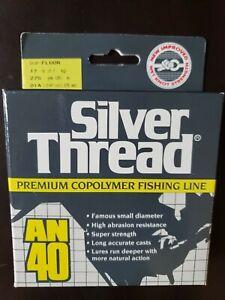 NIB Silver Thread Premium Copolymer Fishing Line AN40 17lbs 275 Yds Fluor