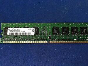 Infineon HYS64T64000HU-3.7-A 512MB DDR2-533 (PC2-4200) PC2-4200U RAM Memory  NEW