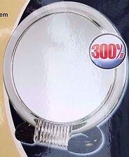 Wenko Kosmetik Stand- und Handspiegel Weiß 13 cm Badezimmer Schminken