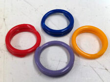 10 x COLOUR 22mm SIZE #14 Large Hens ROOSTERS Geese LEG RING BAND TAG (Poultry)