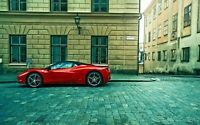 city of ferrari wall art CANVAS PICTURE PRINT FRAMED 20X30 INCH