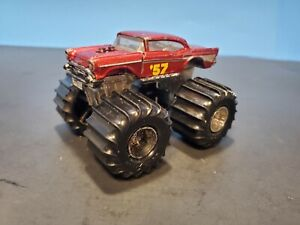 MATCHBOX SUPER CHARGERS 1987 '57 CHEVY MONSTER TRUCK VINTAGE VERY RARE