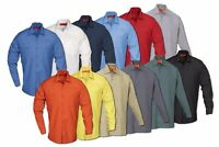Work Shirts Industrial Uniform Two Pockets Long Sleeve REED Polyester/Cotton