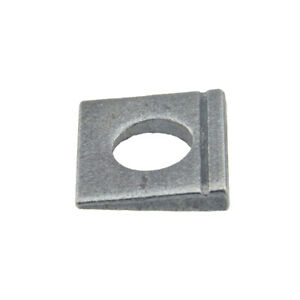 Scheiben DIN 435 Stahl blank ÜH vierkant Neigung 14% keilförmig