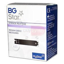 Sanofi BGSTAR Dispositivo Medico Misurazione Glicemia 25 Strisce