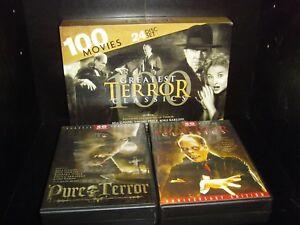100 Greatest Terror Classics - 100 Movies - 24 Discs