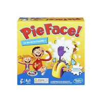 Hasbro Pie Face Fun Filled Family Game of Suspense - French Version