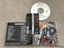 Girlschool ‎- Demolition / Hit And Run JAPAN CD 1993 (VICP-2089) OBI