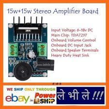 E84 TDA7297 Mini Stereo Power Amplifier Module Double Channel 15w+15w DC 6-18v